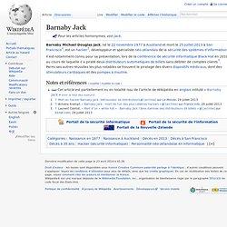 Hacker - Barnaby Jack
