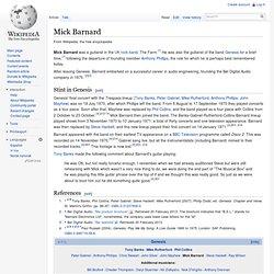 Mick Barnard