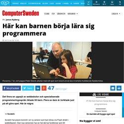 Här kan barnen börja lära sig programmera