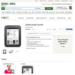 NOOK Simple Touch™
