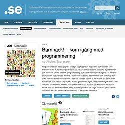 Barnhack! – kom igång med programmering