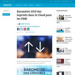 Baromètre 2015 des logiciels dans le Cloud pour les PME