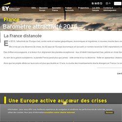 Baromètre de l'attractivité France 2016 : La France distancée