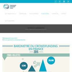 Baromètre du crowdfunding 2015