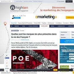 Baromètre POE Digital d'Havas Media classe les marques
