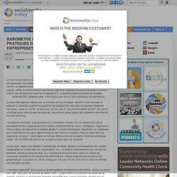 BAROMETRE DIGIMIND 2008 - PRATIQUES DE VEILLE DES GRANDES ENTREPRISES