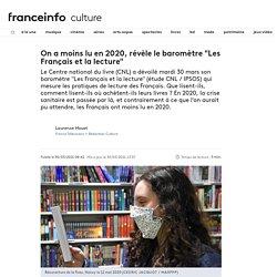 """On a moins lu en 2020, révèle le baromètre """"Les Français et la lecture"""""""