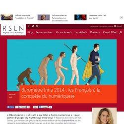 Baromètre Inria 2014 : les français à la conquête du numérique