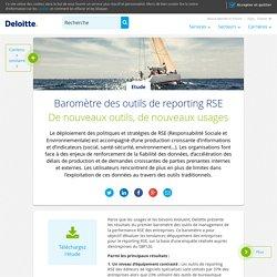 Baromètre des outils de reporting RSE