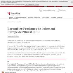 Baromètre Pratiques de Paiement Europe de l'Ouest 2019