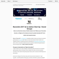 Baromètre de la relation Start-Up - Grand Groupe