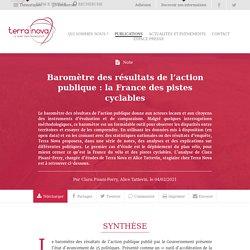 Baromètre des résultats de l'action publique : la France des pistes cyclables