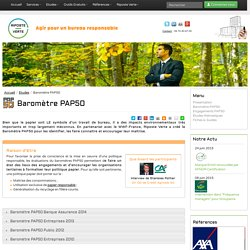Riposte Verte - Agir pour un bureau responsable