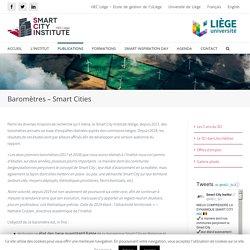 Baromètres - Smart Cities