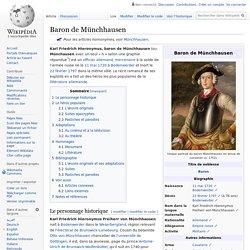 Baron de Münchhausen