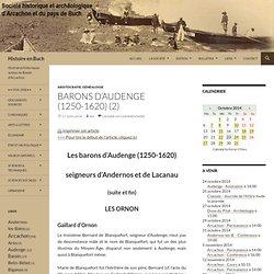 Barons d'Audenge (1250-1620) (2)