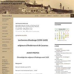 Barons d'Audenge (1250-1620) (1)