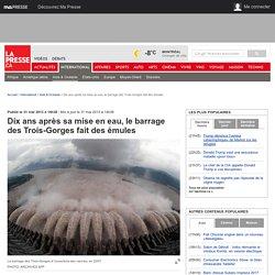 Dix ans après sa mise en eau, le barrage des Trois-Gorges fait des émules