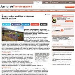 Sivens: un barrage illégal et dépourvu d'utilité publique