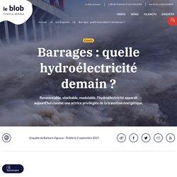 Barrages: quelle hydroélectricité demain?