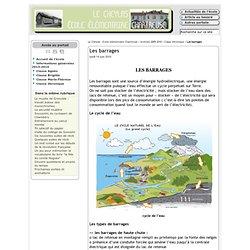 Les barrages - Webécoles du Haut-Grésivaudan