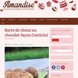 Barre de choux au chocolat façon Conticini