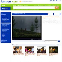 The Goal of the Barren Land Lease in Nepal video from Answers