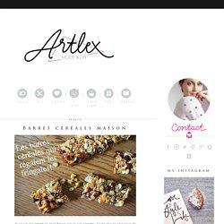 Barres céréales maison - Blog Mode Lyon & DIY - Le Blog d'Artlex
