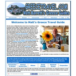A Greece Travel Guide: Matt Barrett's Guide to the Greek Islands, Athens and Mainland Greece