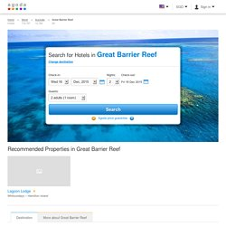 Great Barrier Reef Hotels, Australia: Great savings and real reviews