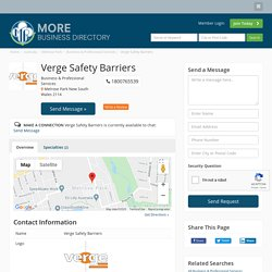 Verge Safety Barriers - Business & Professional Services - Local Business