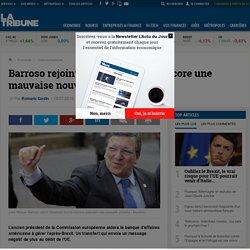 Barroso rejoint Goldman Sachs : encore une mauvaise nouvelle pour l'Europe