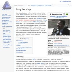 Barry Jennings - Wikispooks