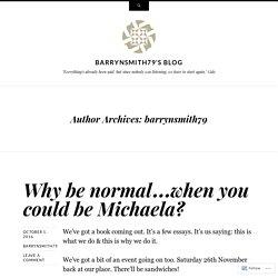 barrynsmith79's Blog