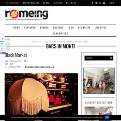 Bars in Monti
