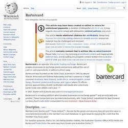 Bartercard - Wikipedia