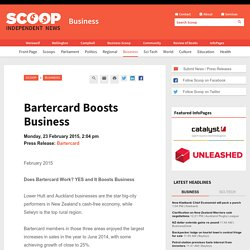 Bartercard Boosts Business