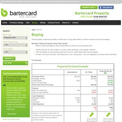 Buy and Sell with Bartercard Trade dollars