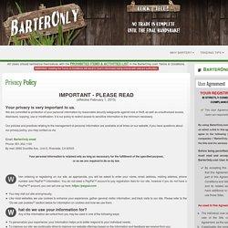 BarterOnly.com