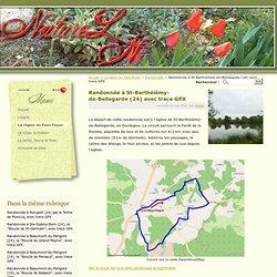 Randonnée à St-Barthélémy-de-Bellegarde (24) avec trace GPX - NatureLN