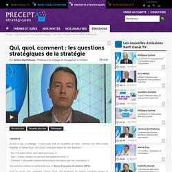 Qui, quoi, comment : les questions stratégiques - Frédéric Fréry - 2015