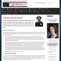 About Dr. Karla Turner and the Bartholic Killings - JeffPolachek.com