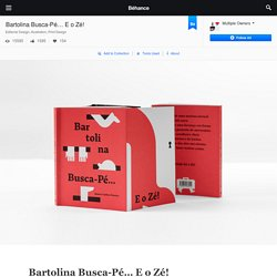 Bartolina Busca-Pé… E o Zé! on Behance