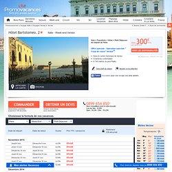 Week-end Hôtel Bartolomeo. 2* Venise Italie : Week-End Petit Déjeuner au départ de Paris