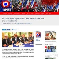 Bartolone rêve d'exporter le 9-3 dans toute l'Ile-de-France encore trop blanche