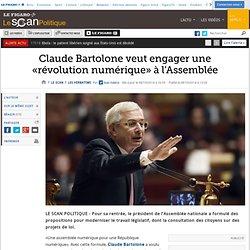 Claude Bartolone veut engager une «révolution numérique» à l'Assemblée