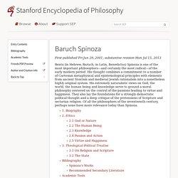 Stanford - Philosopy