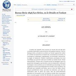 Barzaz Breiz 1846/Les Séries, ou le Druide et l'enfant