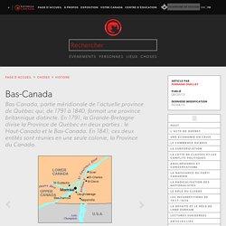 Bas-Canada