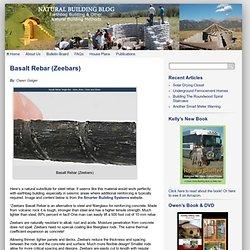 Basalt Rebar (Zeebars)